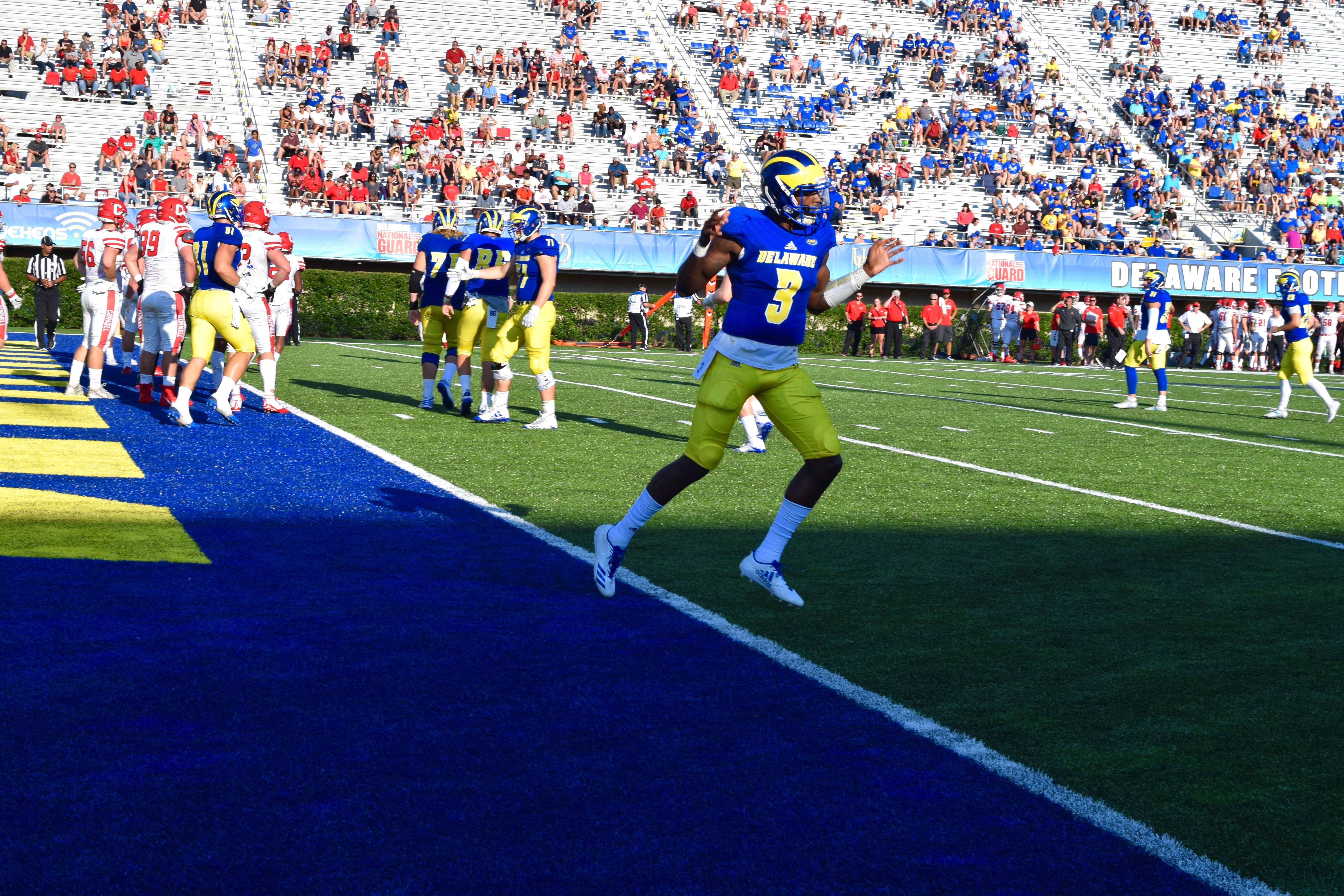 Delaware's offense starts to get on track