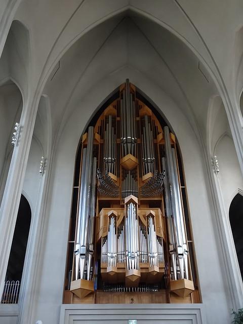 Organ in Hallgrímskirkja