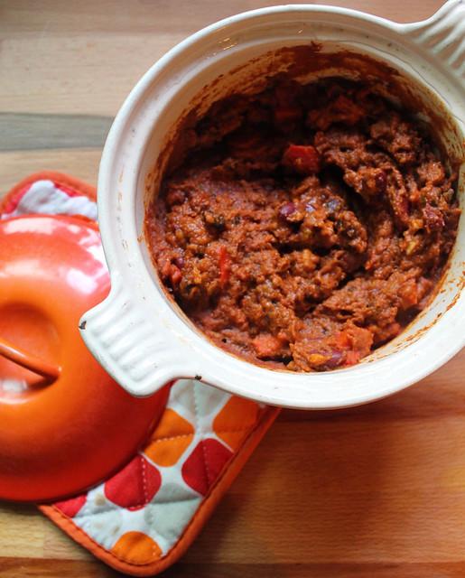 Recipe Recommendation: Rachael Ray's Veg-Head Three-Bean Chili