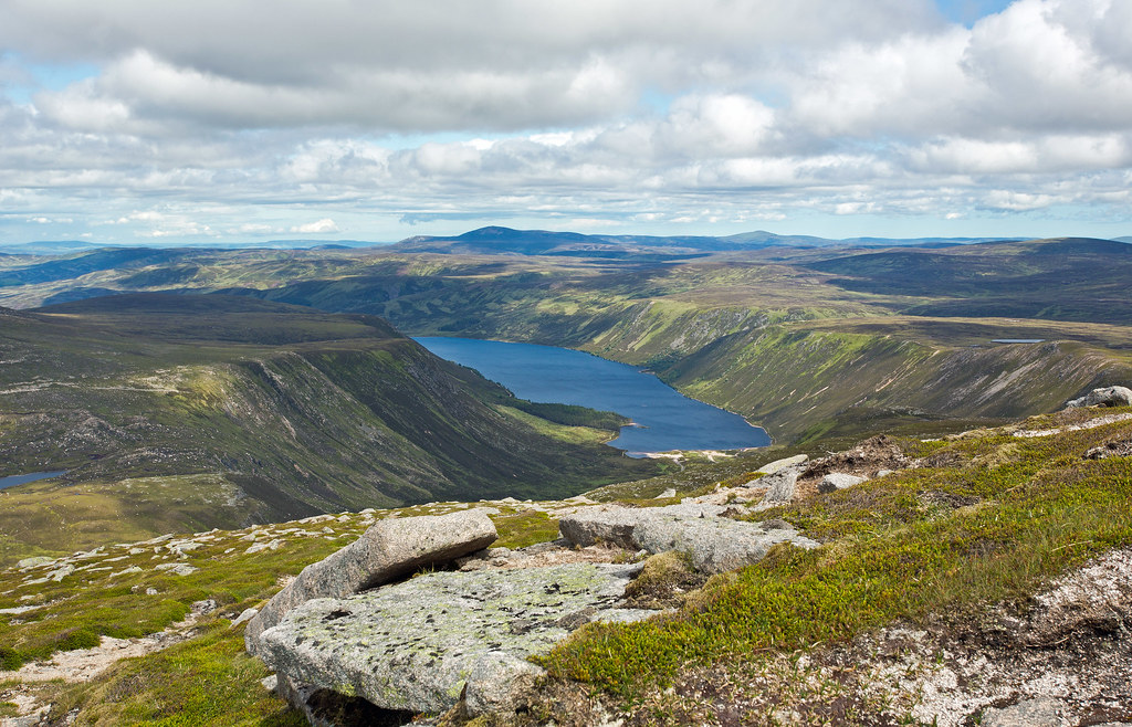 Dubh Loch Aberdeenshire Scotland Tripcarta