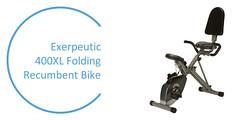 Best Recumbent Exercise Bike - Exerpeutic 400XL Folding