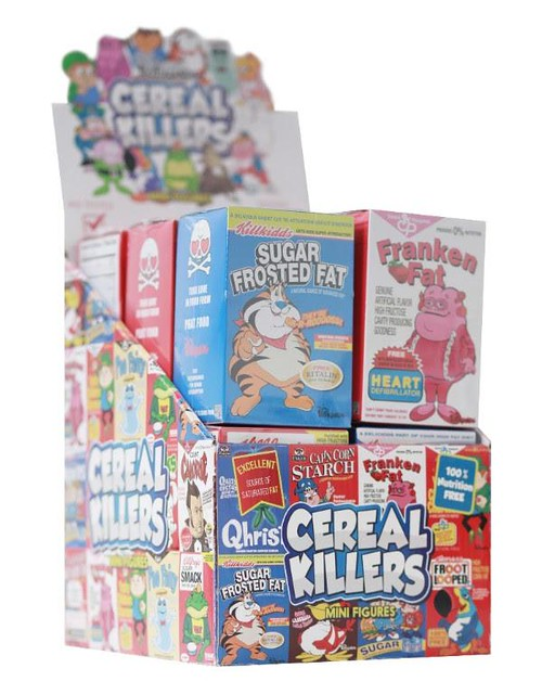 Ron English 「早餐麥片系列 」迷你角色收藏系列!Cereal Killers 3-inch Mini Figure Series