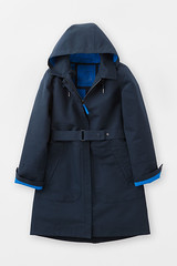 Seasalt Westerly Mac, navy blue