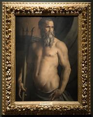 Portrait of Andrea Doria as Neptune | Bronzino | Pinacoteca di Brera di Milano-31