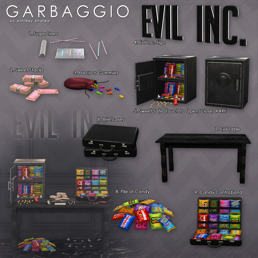 Evil Inc. Candy Contraband
