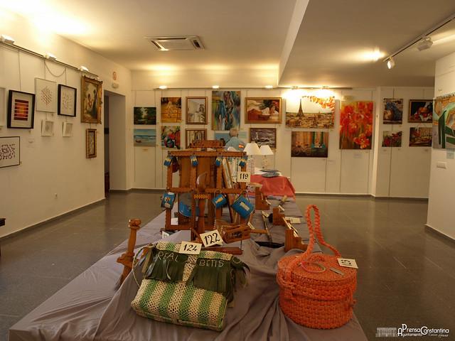 Exposición Arte Colectivo Constantina agosto 2017
