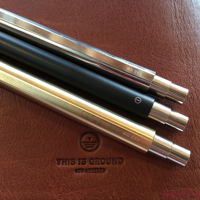 Review @InventeryCo Mechanical Pens - Brass, Chrome, Onyx 17
