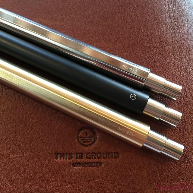 Review @InventeryCo Mechanical Pens - Brass, Chrome, Onyx 17