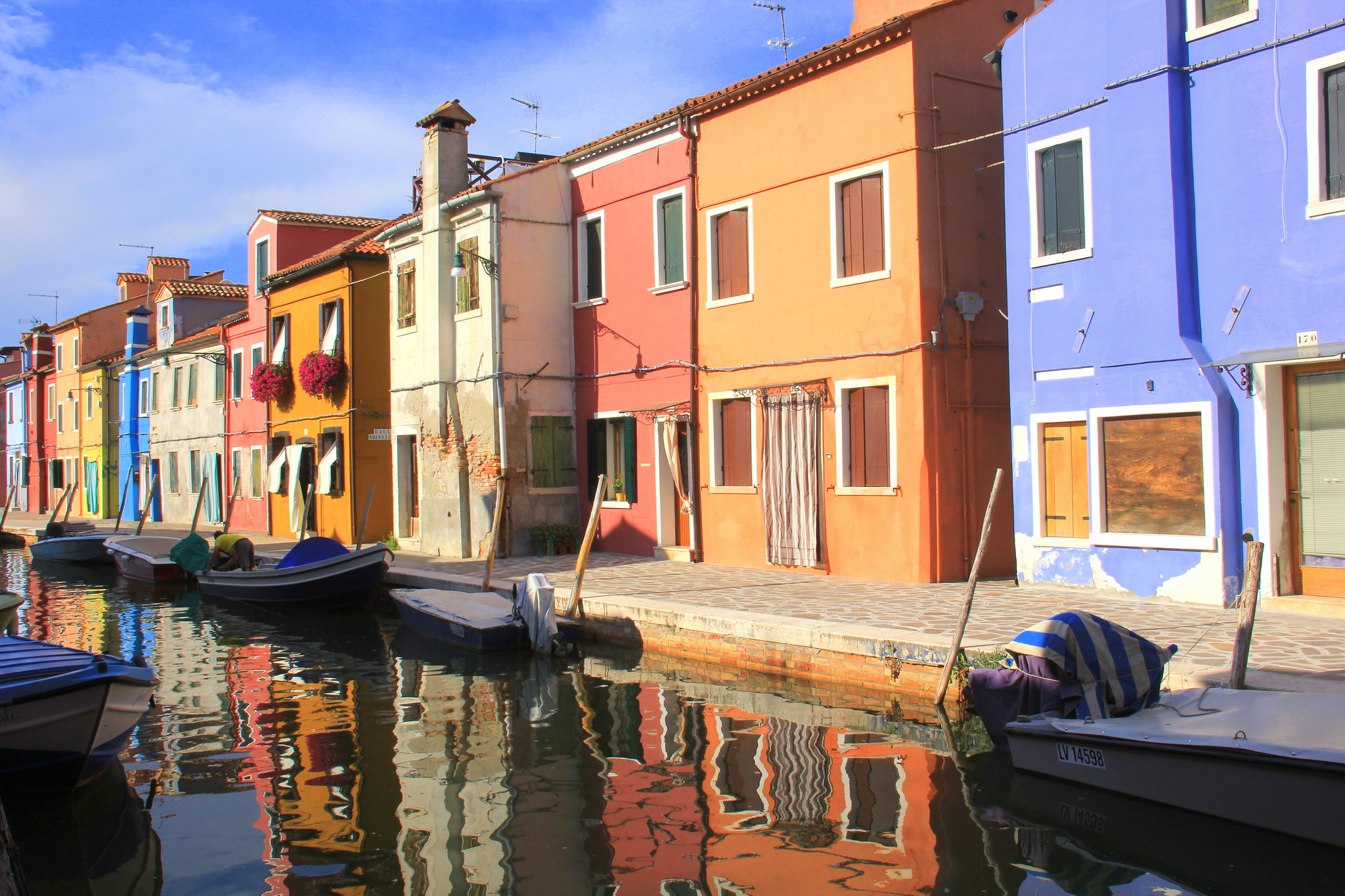 Murano island is one of Italy's most photographed places