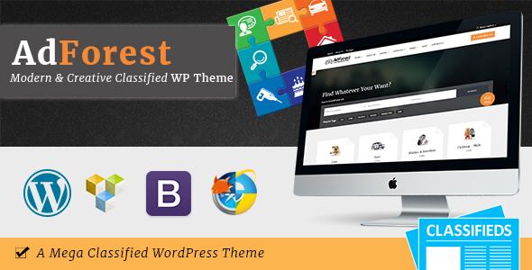 AdForest v2.5.0 – Classified Ads WordPress Theme