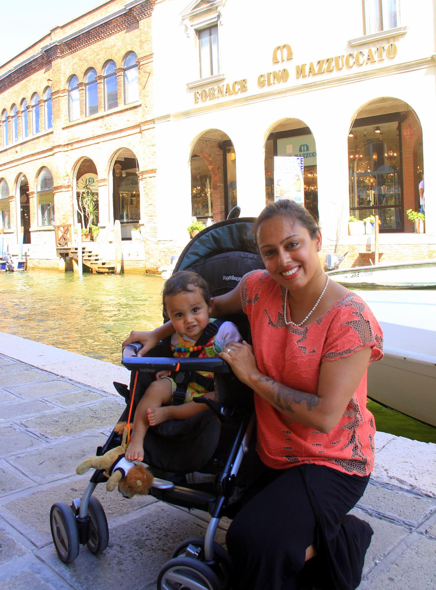 Enjoying the calmness of Murano