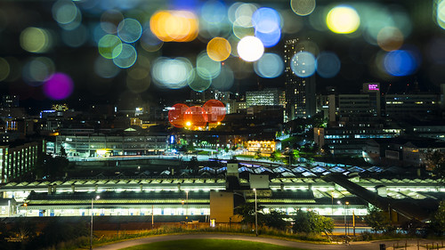 It's raining bokeh over Sheffield