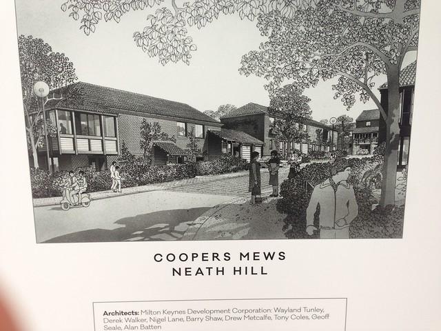 Artist's impressions of Milton Keynes residential development