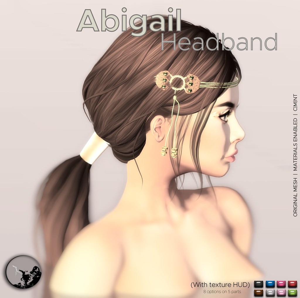 Abigail headband @ The Chapter Four august round - SecondLifeHub.com