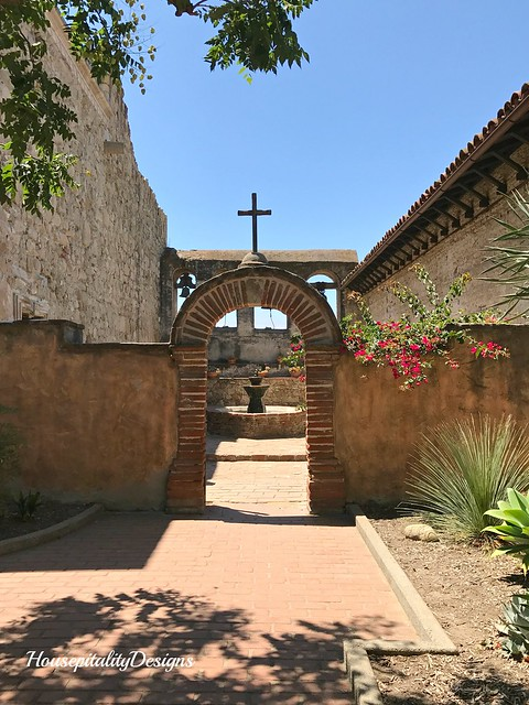 Mission of San Juan Capistrano-Sacred Garden-Housepitality Designs
