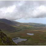 At the crest of Conor Pass