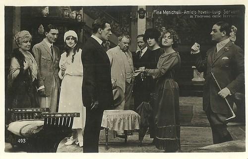 Amleto Novelli and Pina Menichelli in Il padrone delle ferriere (1919)