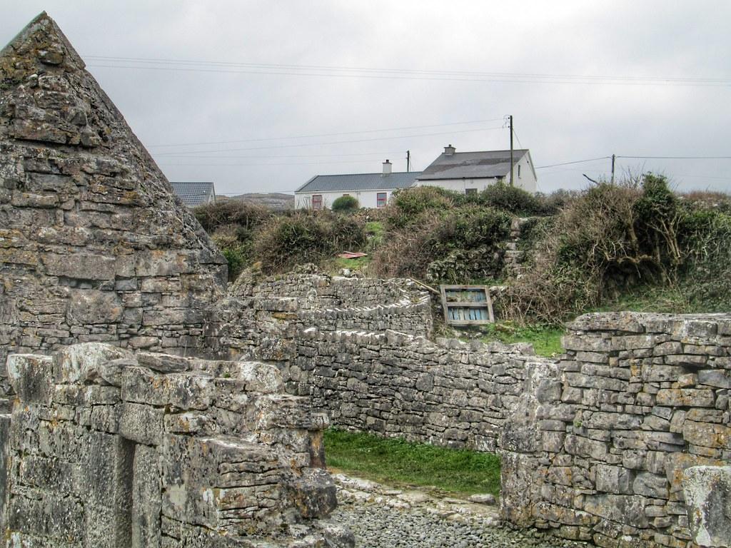 Aran Islands Inis Mor Church ruins 2