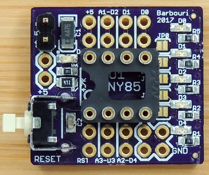 AT-Tiny 85 breakout V1.0