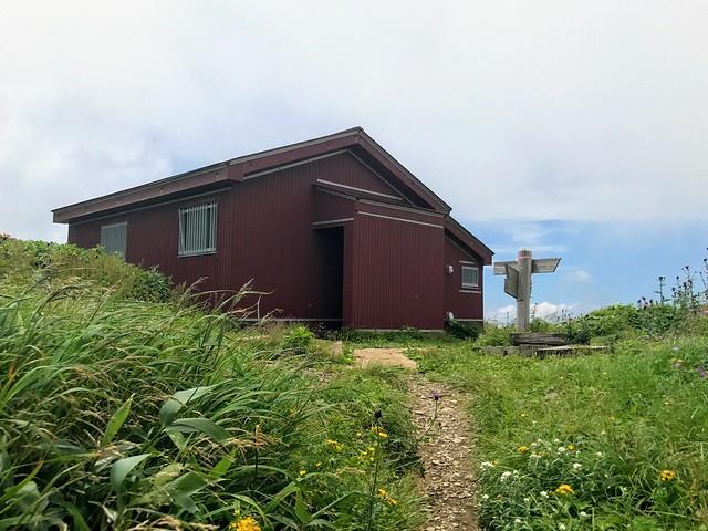 銚子ヶ峰 三ノ峰避難小屋