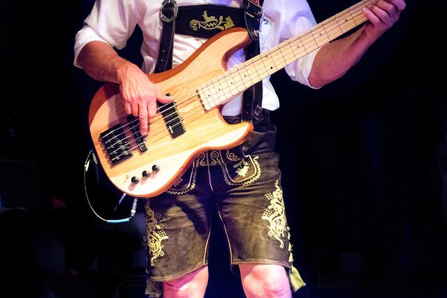 Photo:Bavarian Lederhosn bass player By Phototravelography