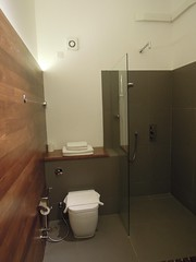 Toilet and shower, W15