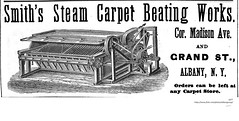 smiths steam carpet beating works  1877  madison and grand albany ny