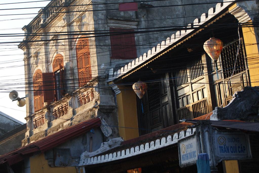 Vieille maison de la Vieille Ville de Hoi An classée au patrimoine de l'Unesco.
