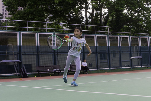 Tennis classes in Hong Kong 6-9 years of age
