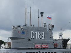 Soviet Whiskey Class Submarine (C-189) Saint Petersburg Russia