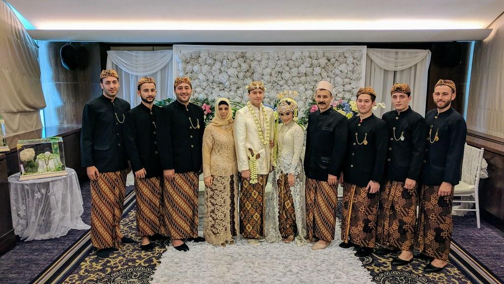 Selo 2017年證婚儀式與伴郎合影