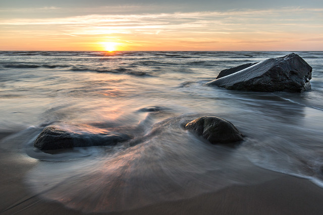 Solnedgang i Hirtshals, Canon EOS 5D MARK III, Canon EF 16-35mm f/4L IS USM