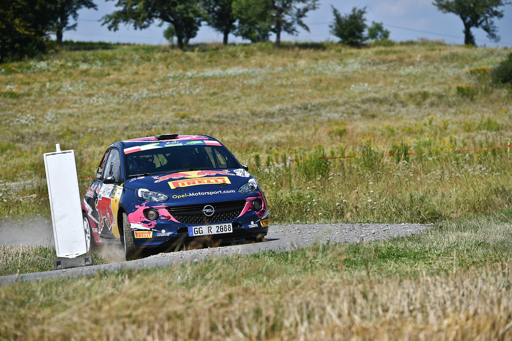 35 MOLINARO Tamara (ITA) Ursula MAYRHOFER (AUT) Opel Adam R2 action during the 2017 European Rally Championship Rally Rzeszowski in Poland from August 4 to 6 - Photo Wilfried Marcon / DPPI