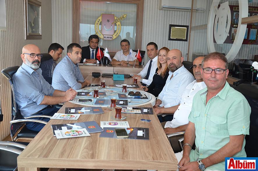 CK Akdeniz Elektrik Genel Müdürü AGC'deydi