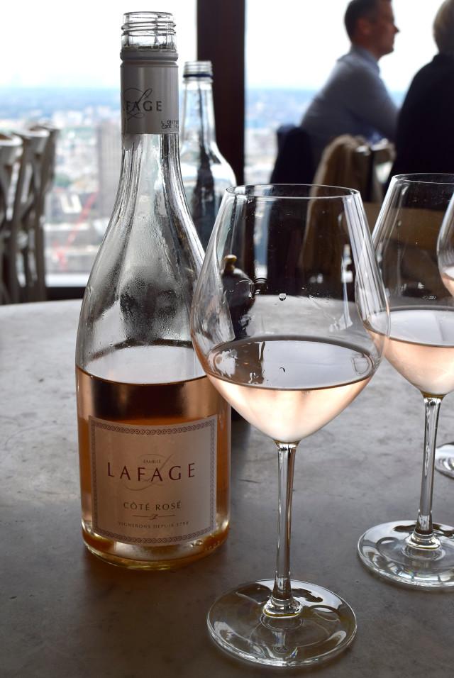 Rose Wine at Duck & Waffle | www.rachelphipps.com @rachelphipps