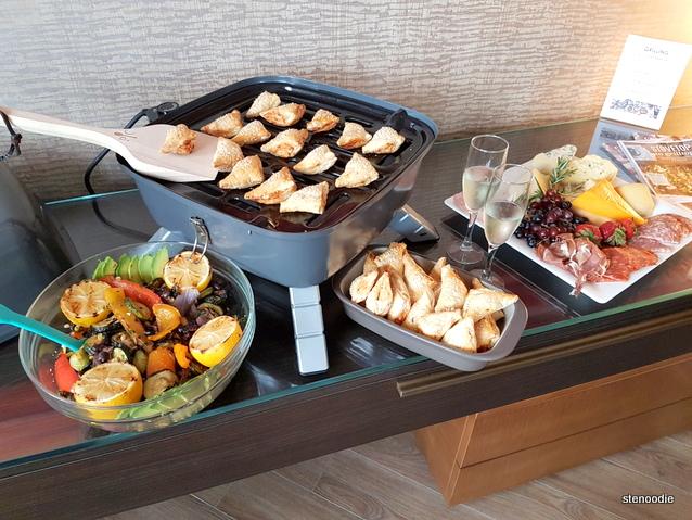 Pampered Chef setup