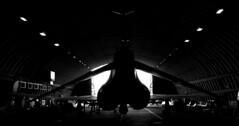 Phantom FGR2 in Hardened Aircraft Shelter
