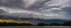 Storm clouds rolling in Puumala