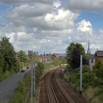 Road and rail at Preston