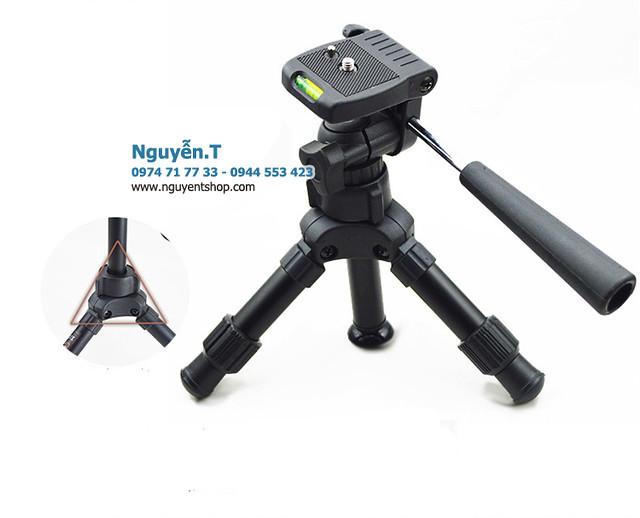 Chân máy ảnh tripod gấp gọn du lịch Bexin MS-02