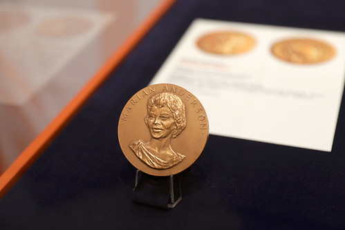 1978 Marian Anderson bronze medal