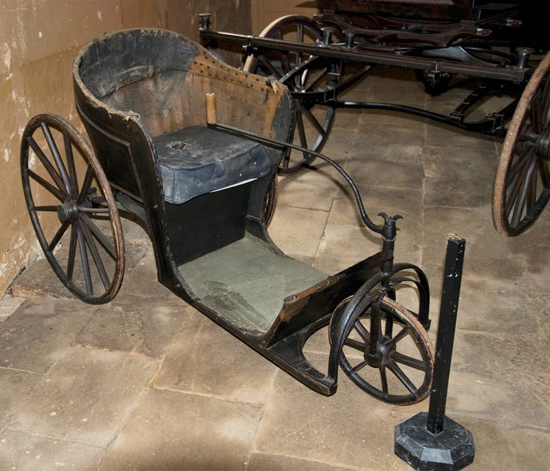 Antique Wheelchair, Calke Abbey. Credit Thomas Quine