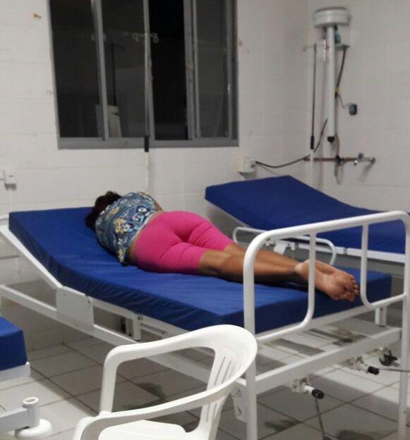 vc. repórter. Saúde na cidade com licitação de 10 milhões não tem lençol, Saúde em Óbidos