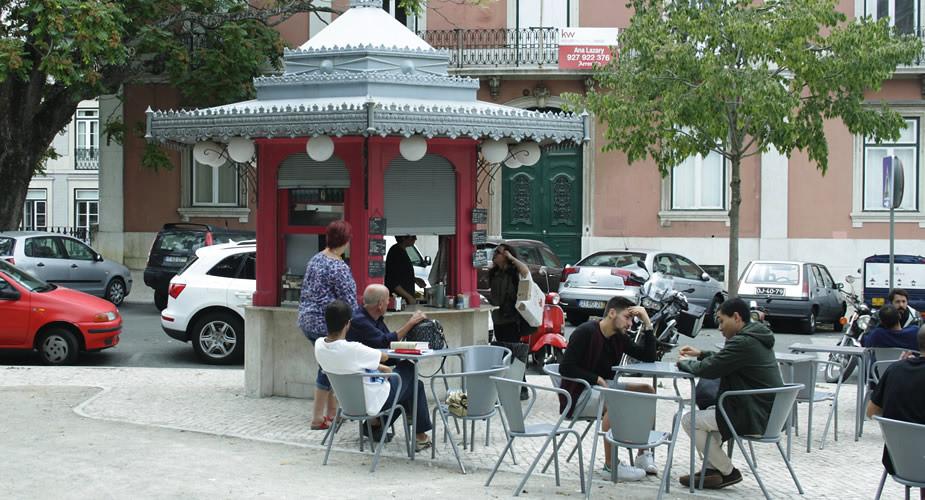 Kiosken in Lissabon, leuke terrasjes | Mooistestedentrips.nl