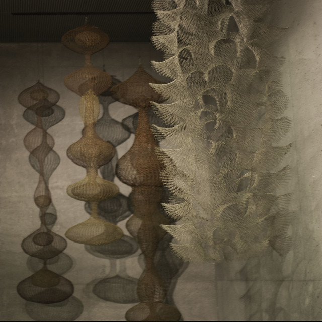 Ruth Asawa sculptures - De Young Museum