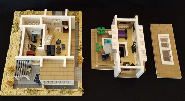 Whitebrick Sand House MOC overview