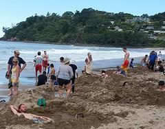 hot springs, Coromandel, New Zealand