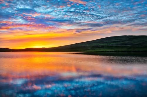 Iceland Blue Sunset