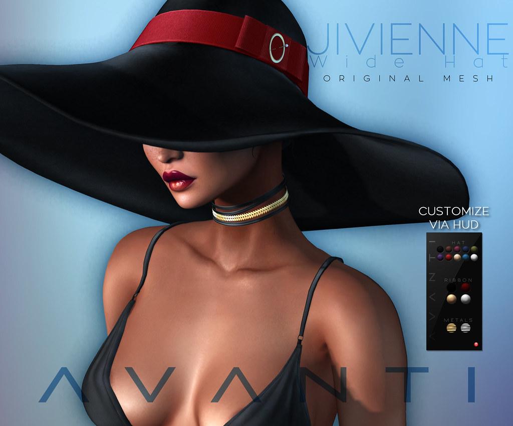 Avanti @ Cosmopolitan: Jivienne Hat - TeleportHub.com Live!