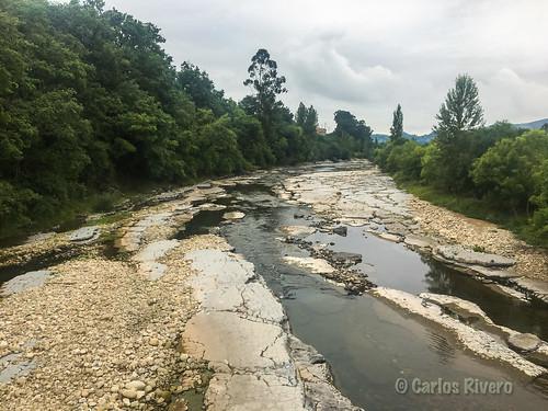 Río Pas por Borleña, Cantabria.